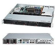 Продам сервер SuperMicro SuperServer X8DTL-6F/SC813MTQ-R400C black